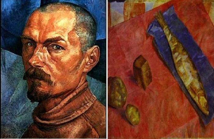 Кузьма Петров-Водкин - знаменитый русский художник.