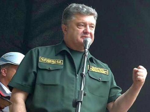 Порошенко рассказал о «девяти граммах свинца» на случай вторжения