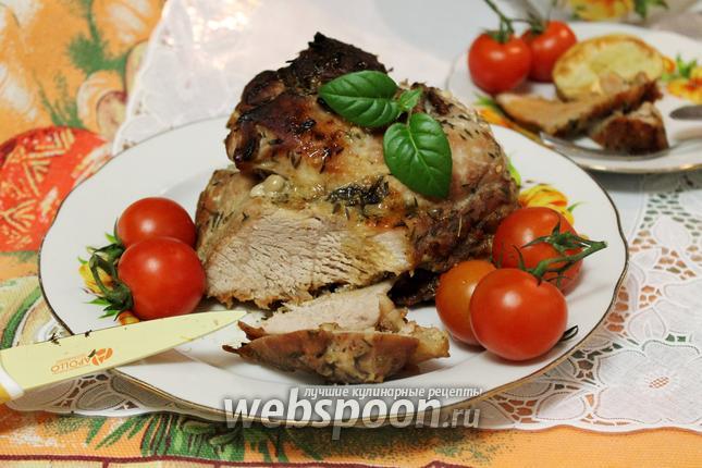 Свинина в горчично-медовом м…