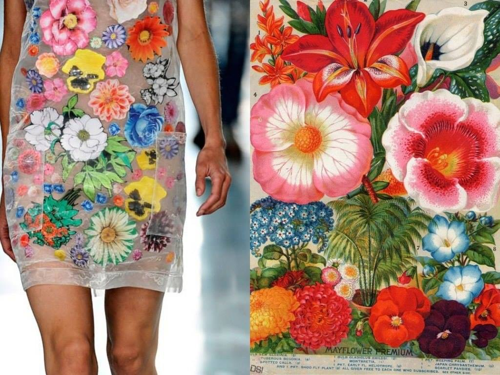 Дизайнерские платья: красивые вариации с узорами