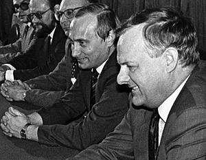 Путин рассказал о выборе стороны во время путча 1991 года