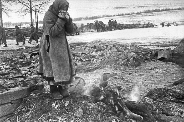 Нацисты сожгли всех. 1943-й год