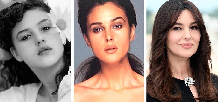 12 фото самых знаменитых красоток нашего времени в детстве, юности и сейчас. Сравним?