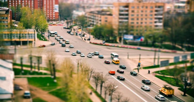 Игрушечная родина: городские пейзажи России в объективе tilt-shift