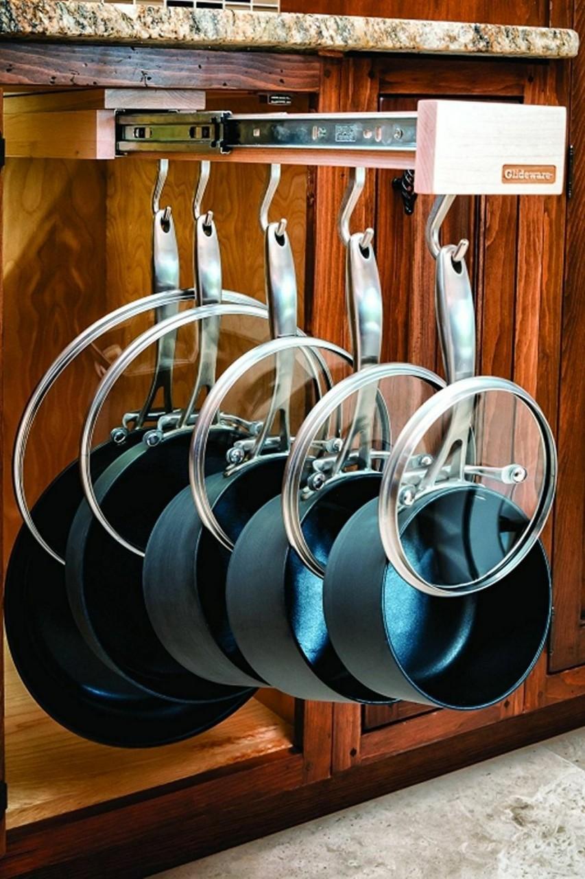 Гениальные идеи для хранения в кухонных ящиках