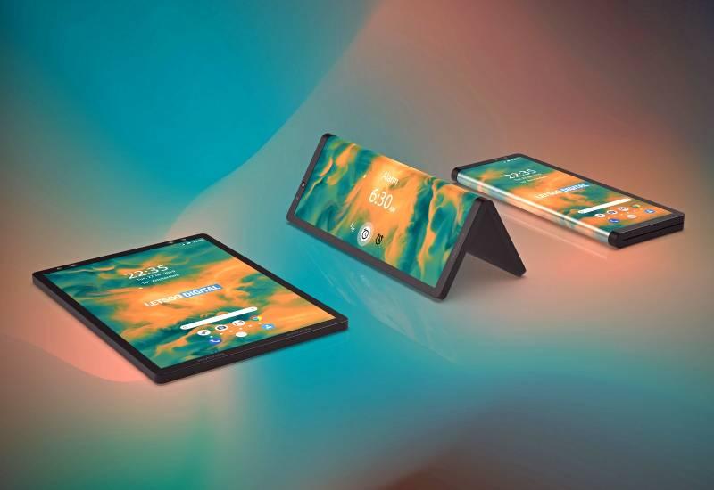 Motorola запатентовала необычный гибкий гаджет