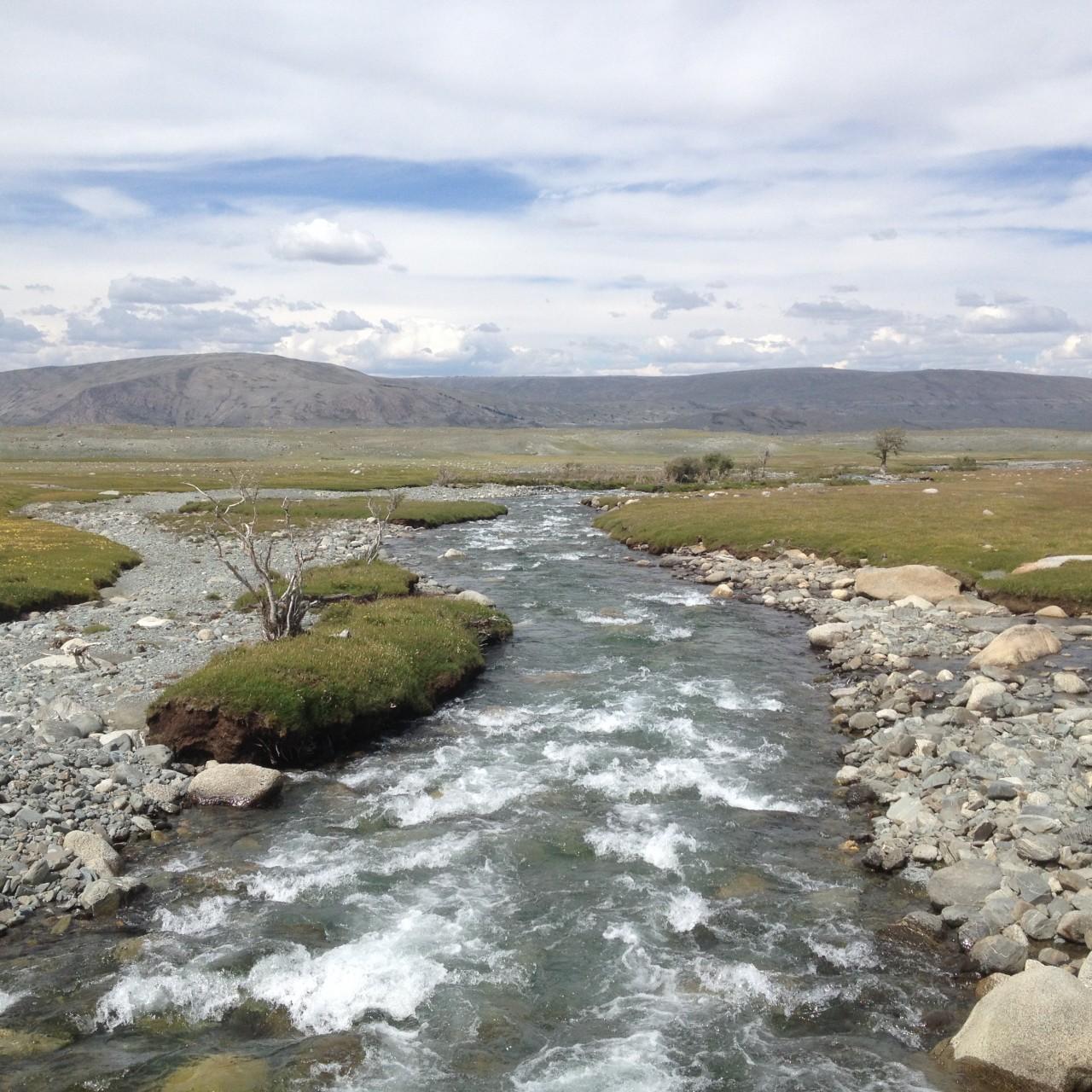 Рыбалка в Монголии
