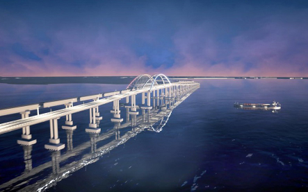 Плохой Украине Крымский мост мешает