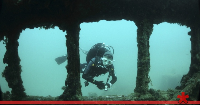 У берегов Балаклавы в Севастополе нашли дневнеримское судно
