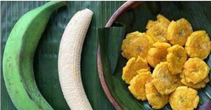 Метод для лечения язвы и гастрита с использованием зеленого банана