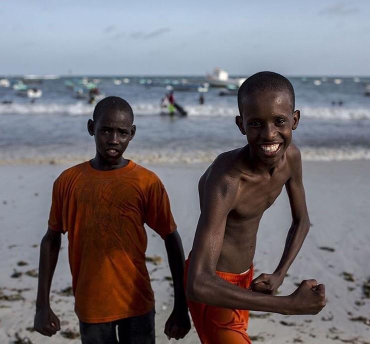За последние годы в Могадишо переехало очень много жителей из соседних деревень Могадишо, жители Сомали, сомали