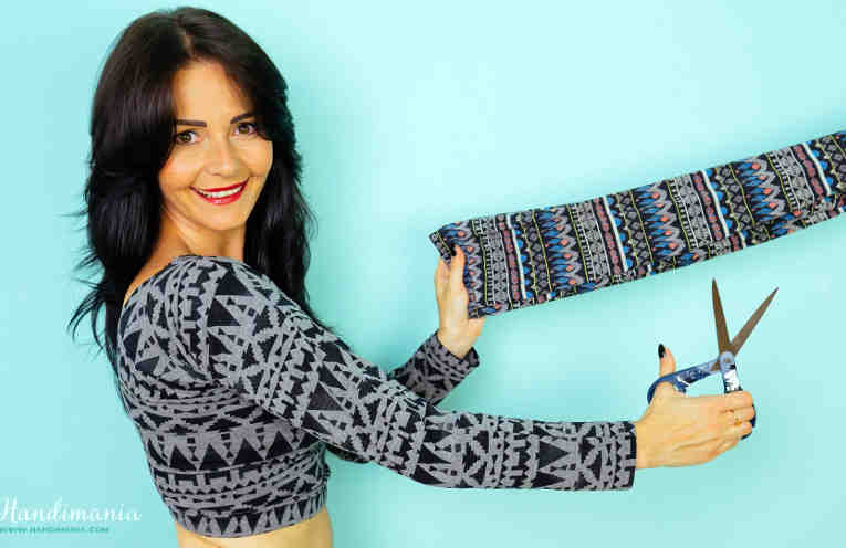 Легким движением руки леггинсы превращаются в элегантную блузу. Поверить сложно — cделать легко