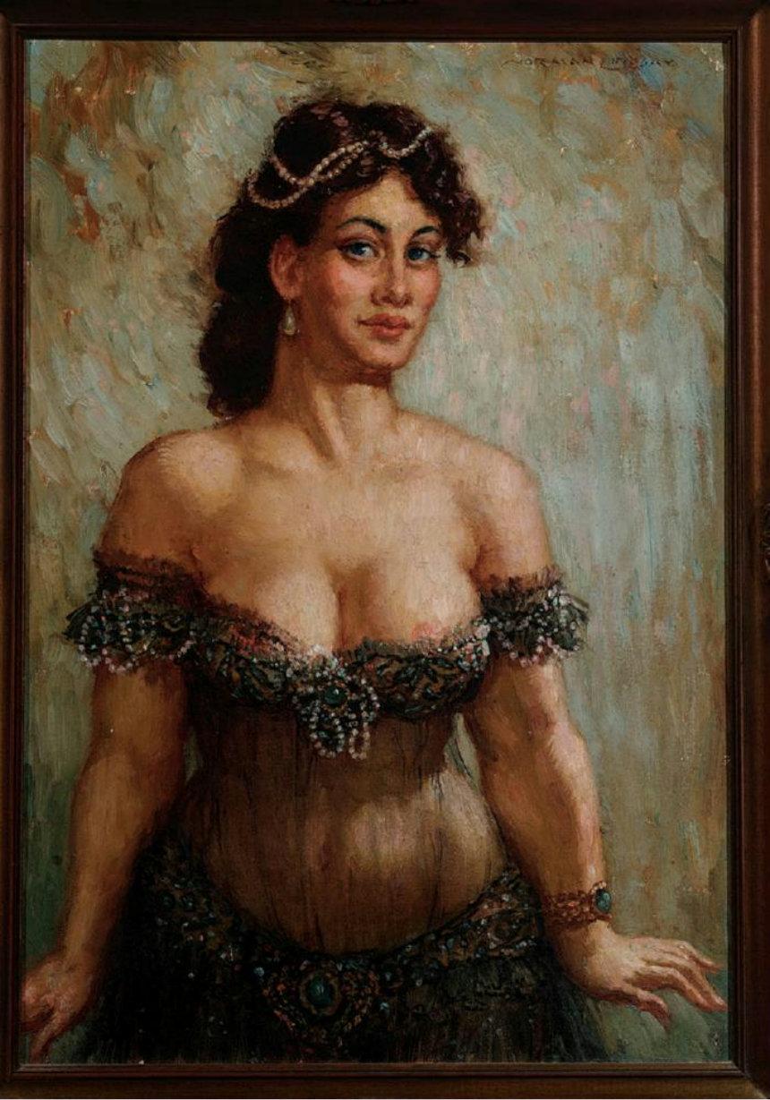 Прелестные нимфы, козлоногие обольстители и демоны в картинах Нормана Линдсея 71