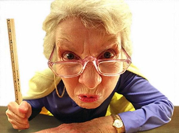 Бабушка Леночки