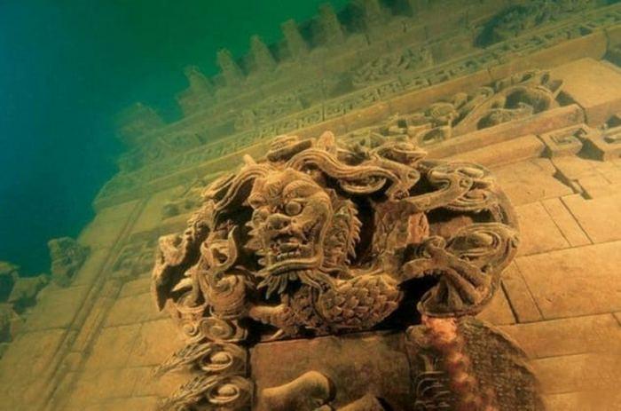 Десятка затонувших городов
