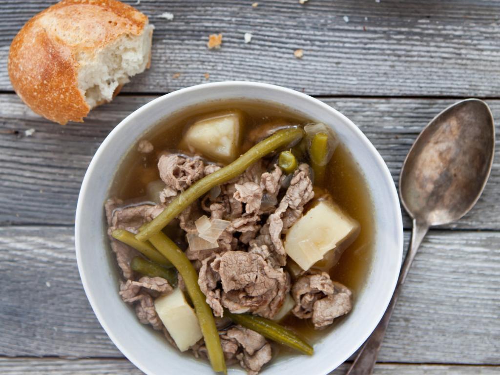 Картофельный суп с говядиной. Рецепты с фото