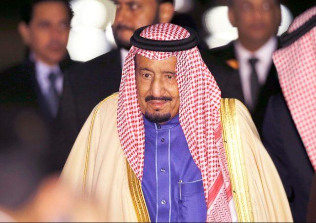 Король Саудовской Аравии выс…