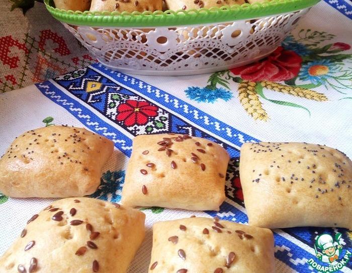 Любимый рецепт бабушки - песочные пирожки с мясом в духовке