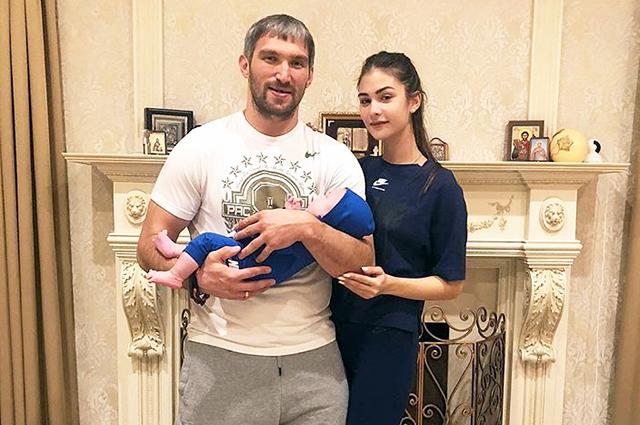 Александр Овечкин и Анастаси…