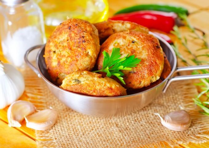 Картофельные котлеты с сыром…