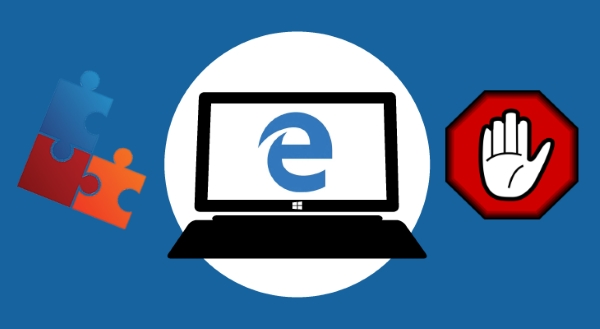 Как запретить в браузере Edge установку расширений