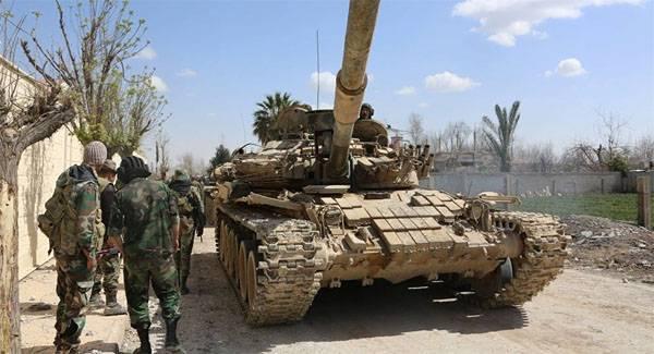 Боевики предприняли наступление в Идлибе