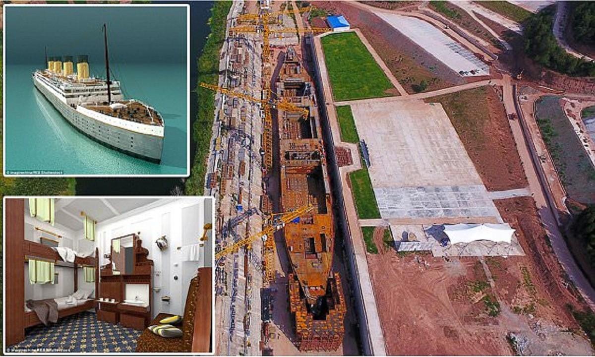 """Китайцы строят новый """"Титаник"""""""