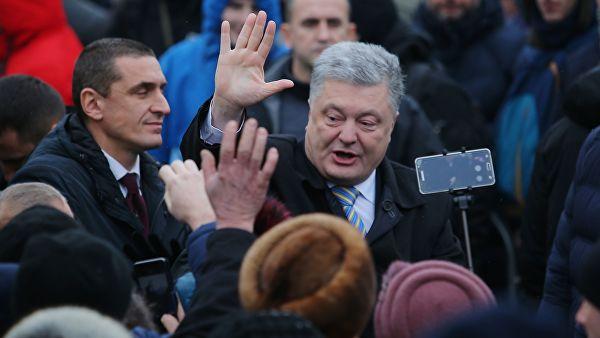 Украина не попадет в рай из-за Порошенко