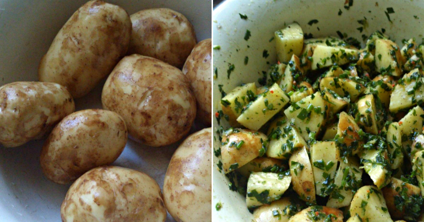 Так картофель готовят в Италии: на аромат сбегутся все соседи. Главное, даже чистить не нужно...