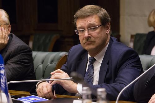 Косачев расценивает заявление Трампа о выходе из ДРСМД как шантаж
