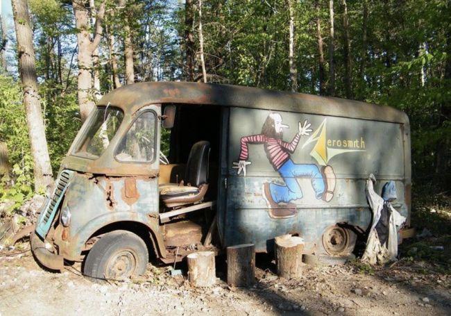 Найден фургон легендарной группы