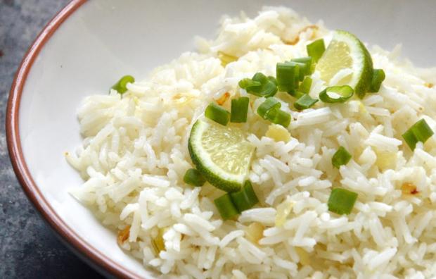 Рис с медом и имбирем