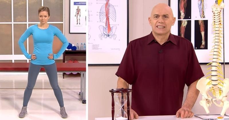 Как быстро снять боль в спине и не пить таблетки — советует знаменитый доктор Бубновский