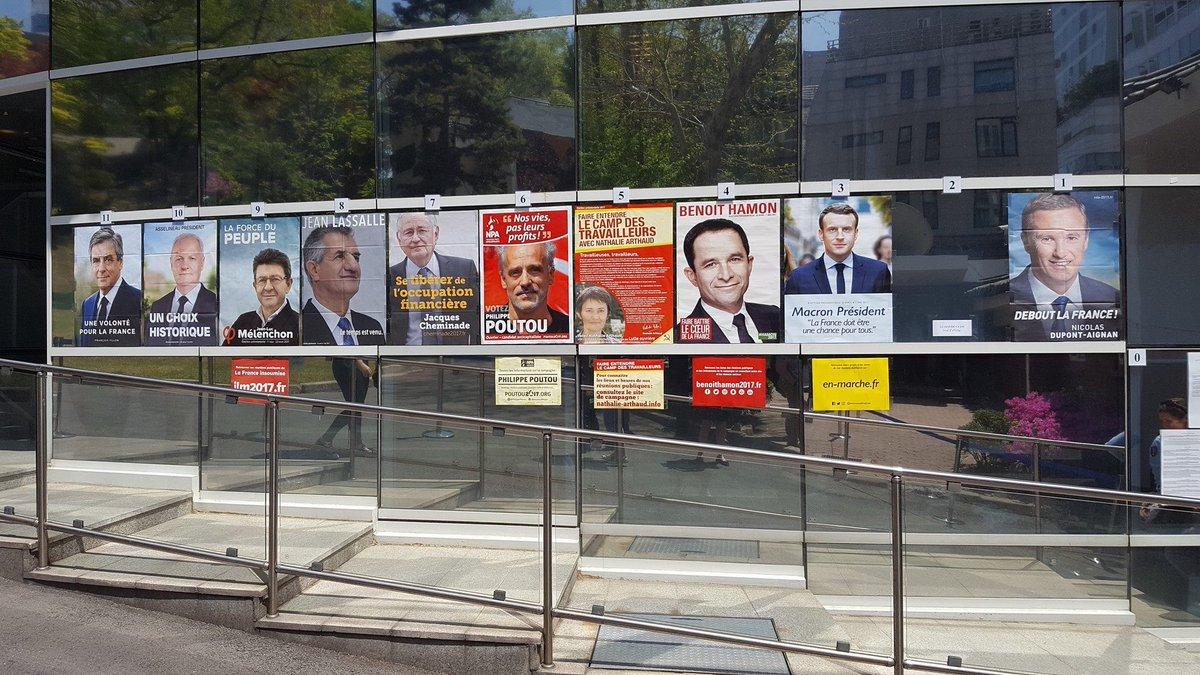 На зарубежных французских избирательных участках нет портрета Марин Лё Пен