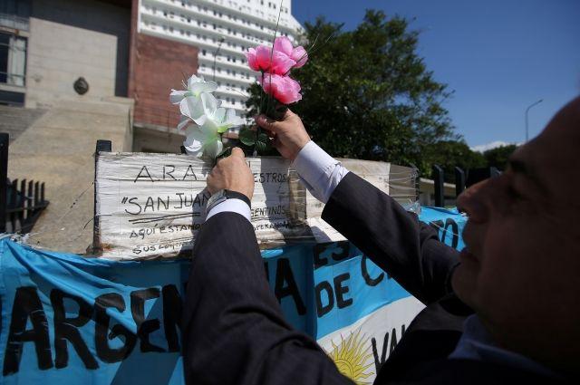 Президента Аргентины попросили обсудить с Путиным помощь в поисках подлодки