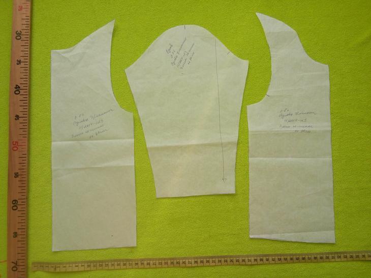 Выкройка детского пуловера burda 11/2014 129A