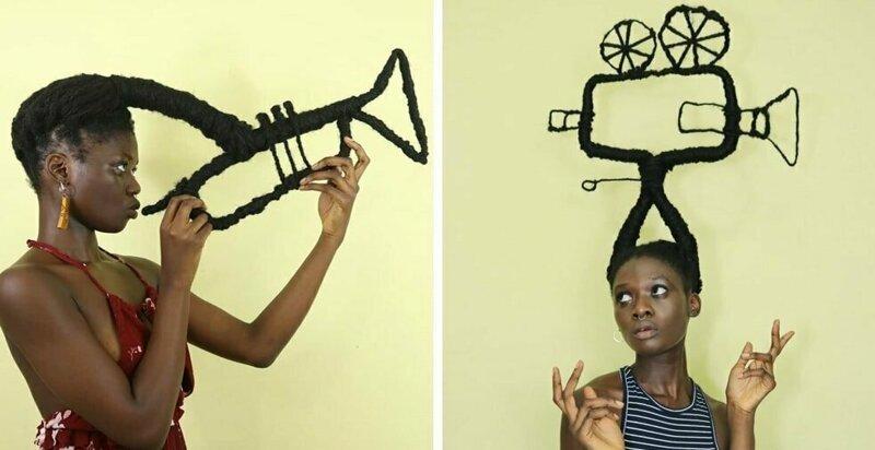 25 забавных скульптур от афр…