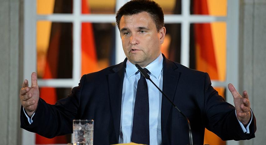 Климкин пообещал России страшные последствия за выборы в ДНР и ЛНР