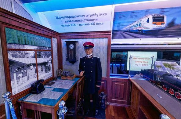 На Рижском вокзале открывается поезд-музей