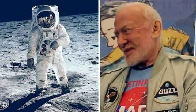 Астронавт Базз Олдрин призна…