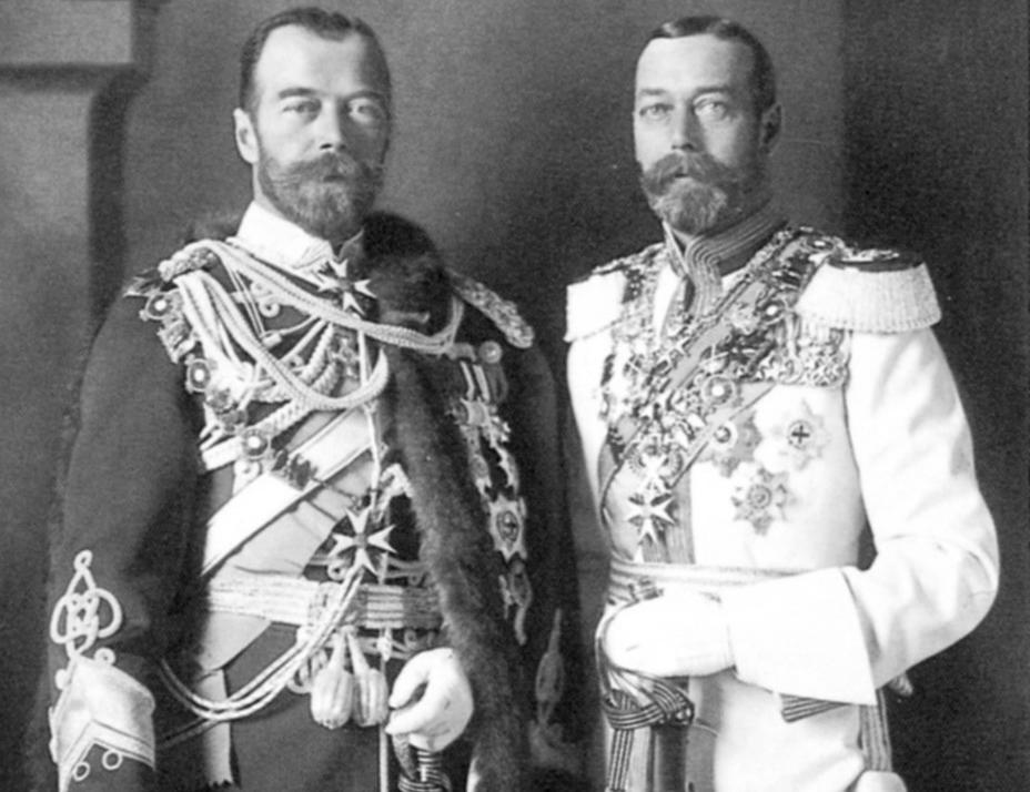 Почему Король Георг V не спас Императора Николая II
