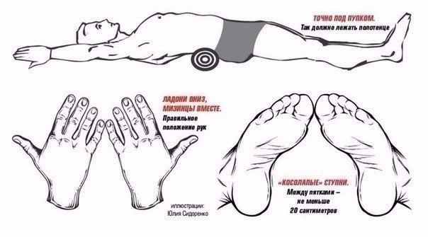 Как убрать живот и выпрямить спину