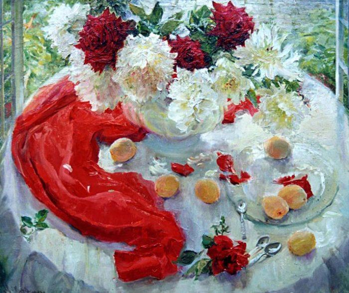 Цветочное настроение — нежные и яркие натюрморты Марии Щербининой