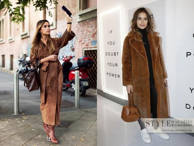 Модная альтернатива черному — коричневый