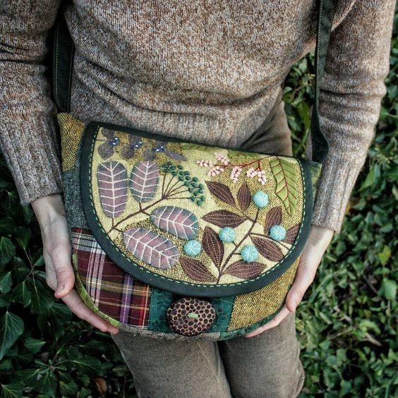 ЖИВИ И НОСИ: сумки и рюкзаки от Анниковой Анны