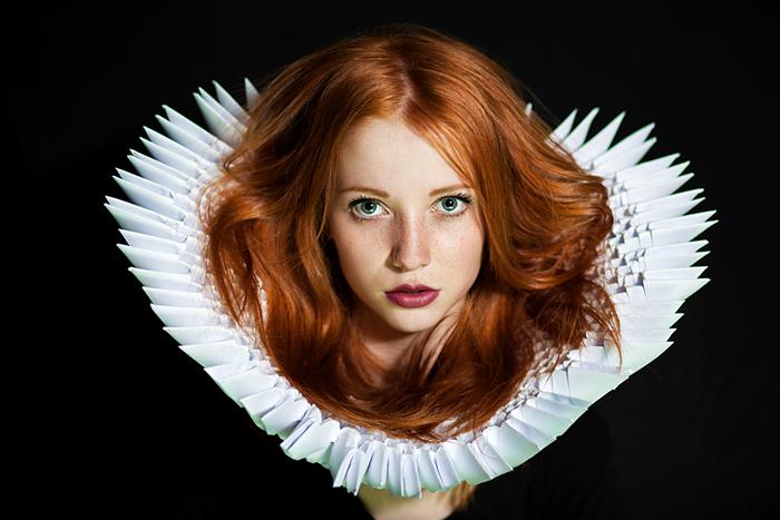 Рыжеволосая Асима. Автор фото: Maja Topcagic.