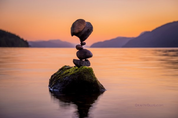 Антигравитация балансирующих камней камни, баланс, фото