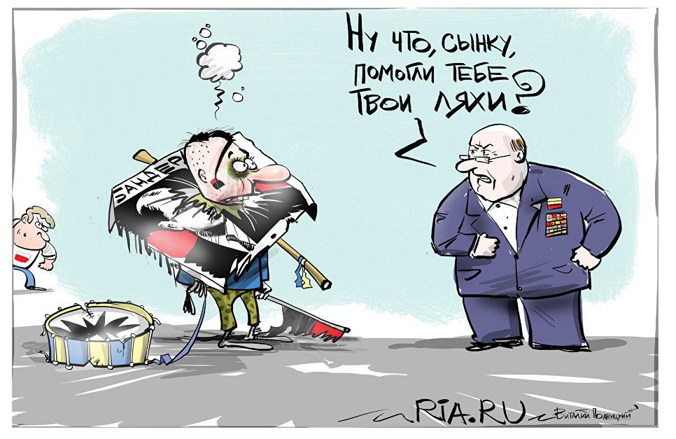 """Сага о """"полезных идиотах"""": украинские националисты на службе польских ревизионистов"""