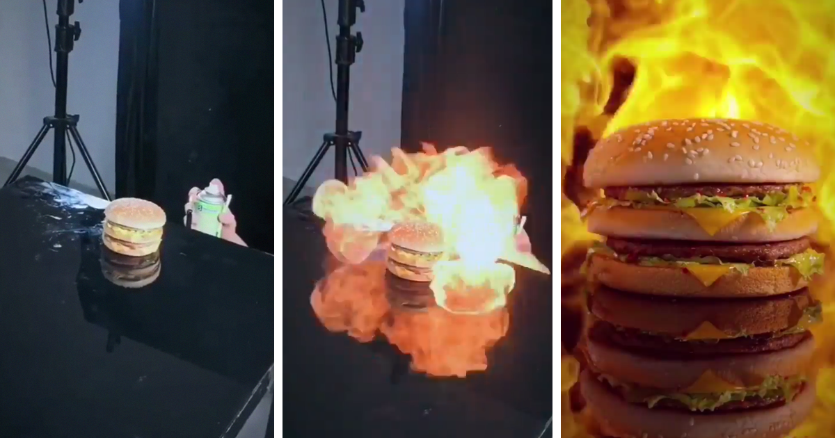 People Are Blown Away At The Way This Chinese Company Create High-End Food Ads Using Super Low-Budget Items