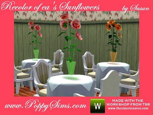Цветы от Poppy Sims